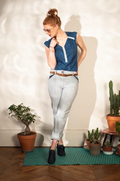 Vanina Escoubet, ÉTÉ 2013, mannequin Mary Astrid Colette