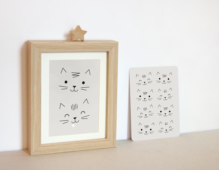 2 cartes chats-zü