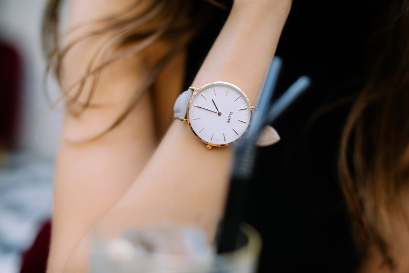 CLUSE Paris 2015 I - La Bohème Rose Gold White-Grey CL18105