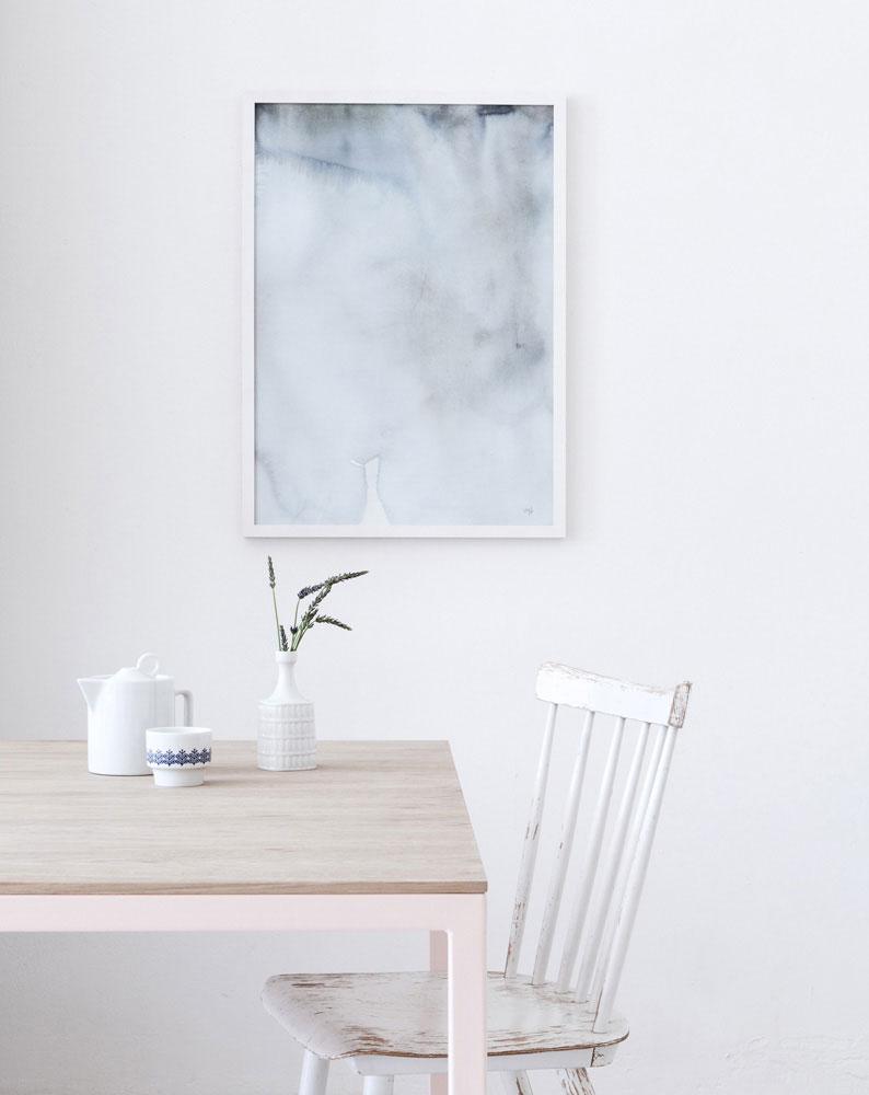 Forrest floor - art print - Silke Bonde