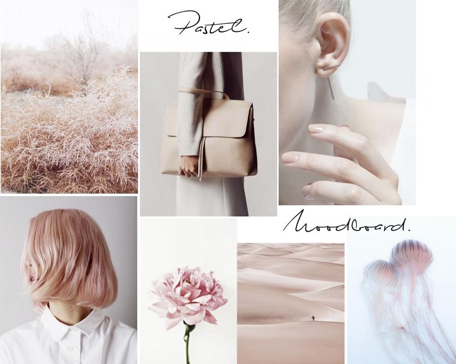 Pastel -Moodboard