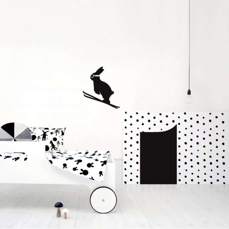 HAM SKI JUMP WALL STICKER