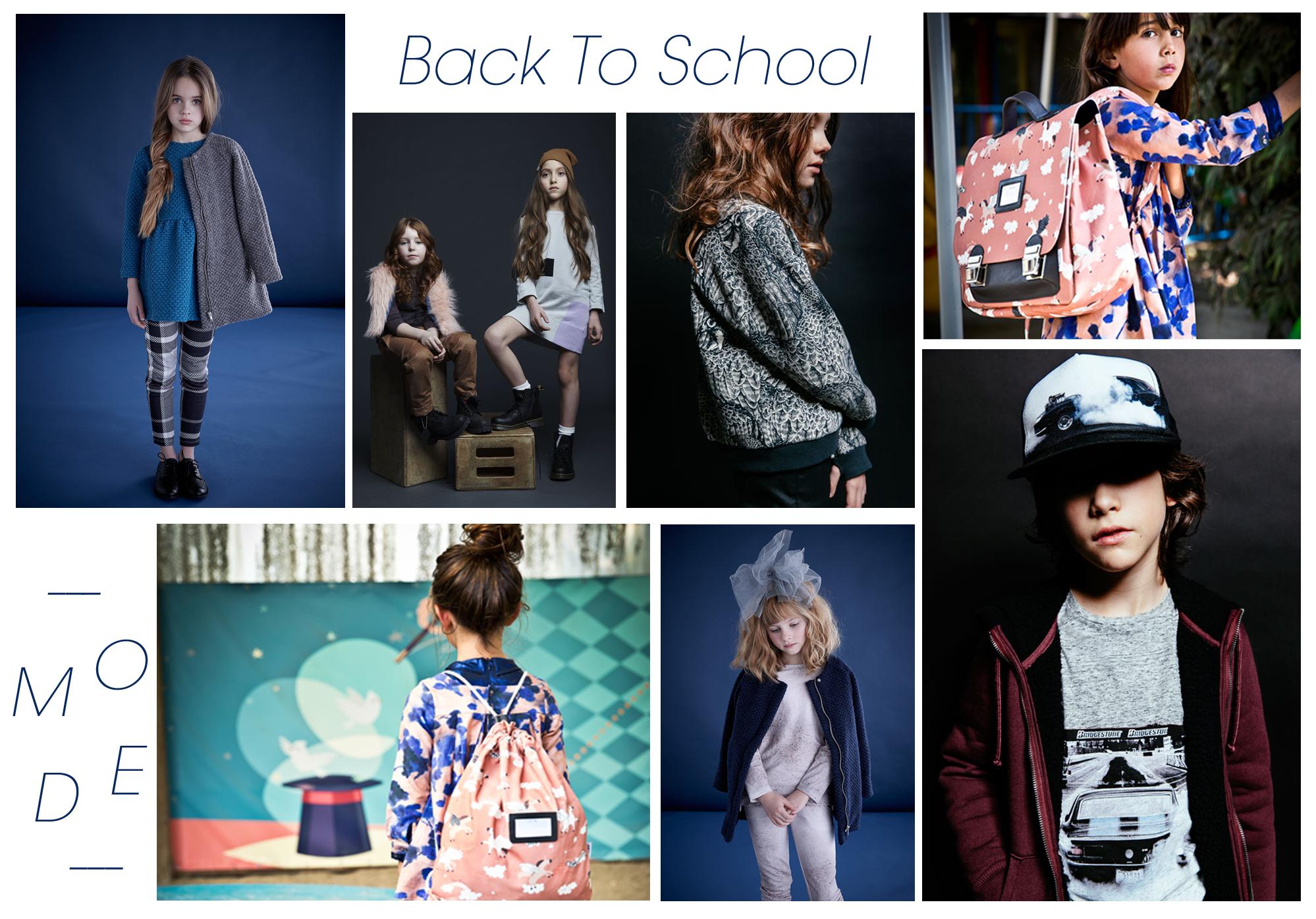 Back To School - Rentrée Kids 2016 - My Trend Book